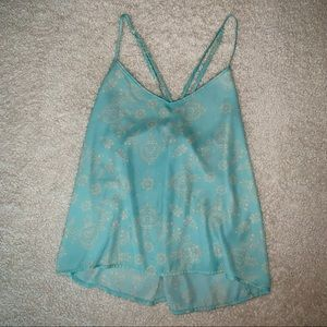 Hollister loose fitted tank top